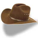der Cowboyhut - kapelusz kowbojski